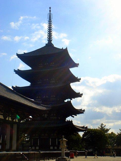 奈良といえば、興福寺の「りりしいあの方」のイメージを思い出す