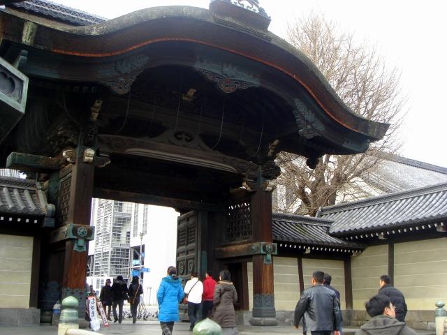 京都「東本願寺」② ハトさんのトーク
