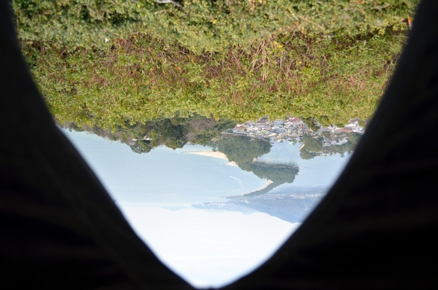 日本三景「天橋立」で股のぞきフィーバー。やりたくなかったが。